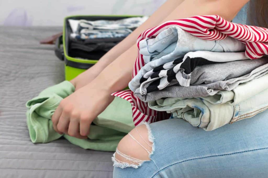 packing clothes travel essentials