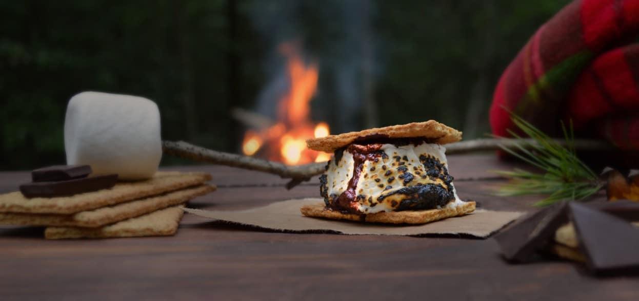 smores-over-campfire